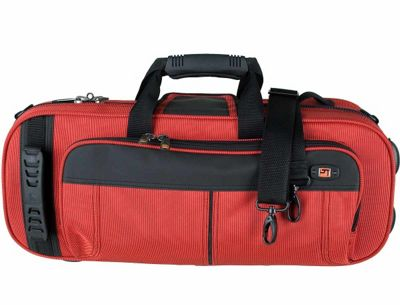 Protec Contoured Trumpet PRO PAC Case - Red
