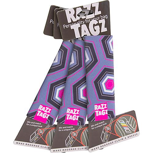 Razz Tagz Luggage Identifier - Set of 3 - 002008