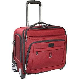 Platinum 6 Deluxe Rolling Tote with Computer Sleeve CLOSEOUT Burgundy