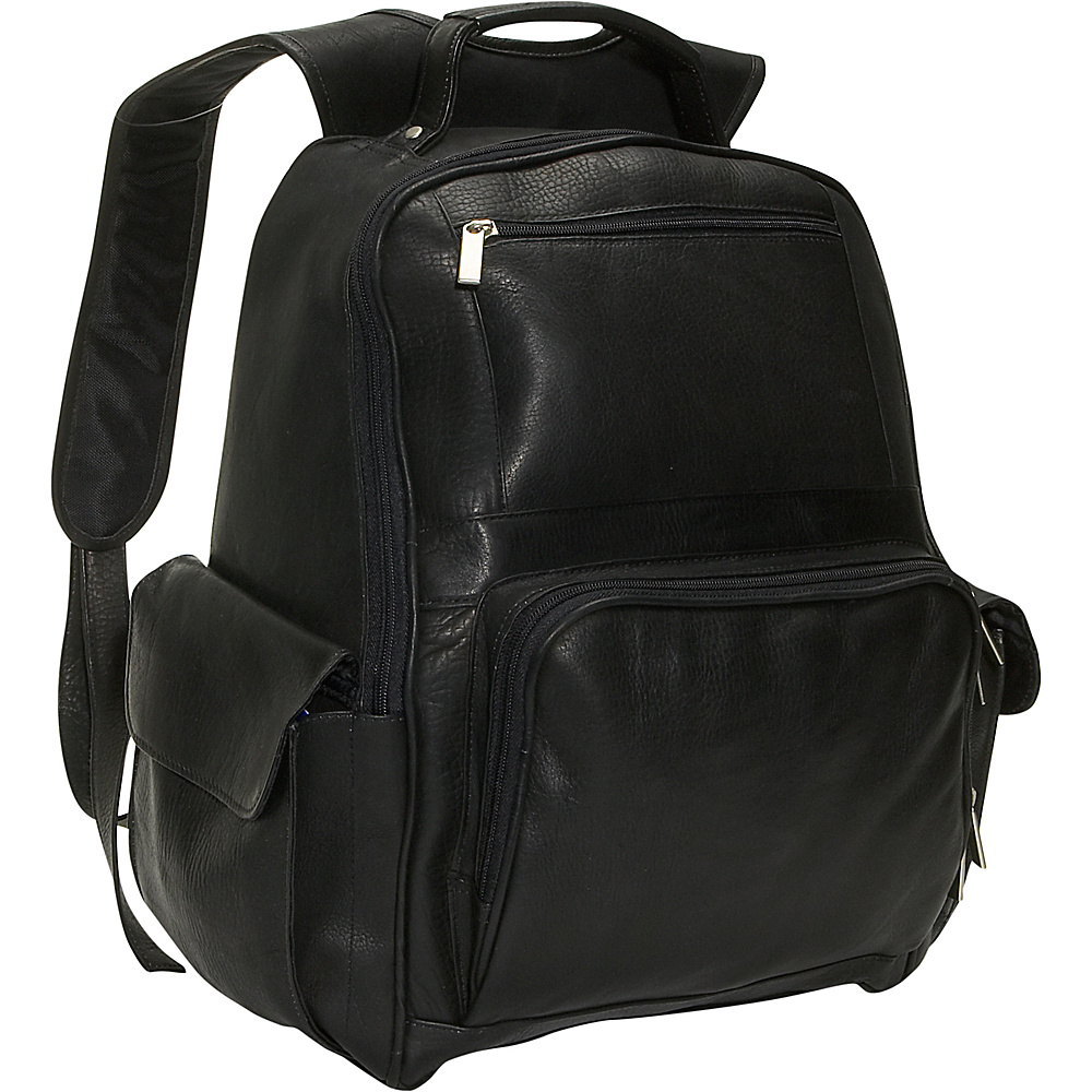 David King & Co. Large Computer Backpack - Black - Backpacks, Business & Laptop Backpacks