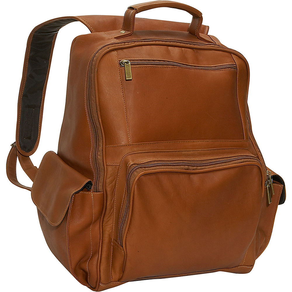 David King & Co. Large Computer Backpack - Tan - Backpacks, Business & Laptop Backpacks
