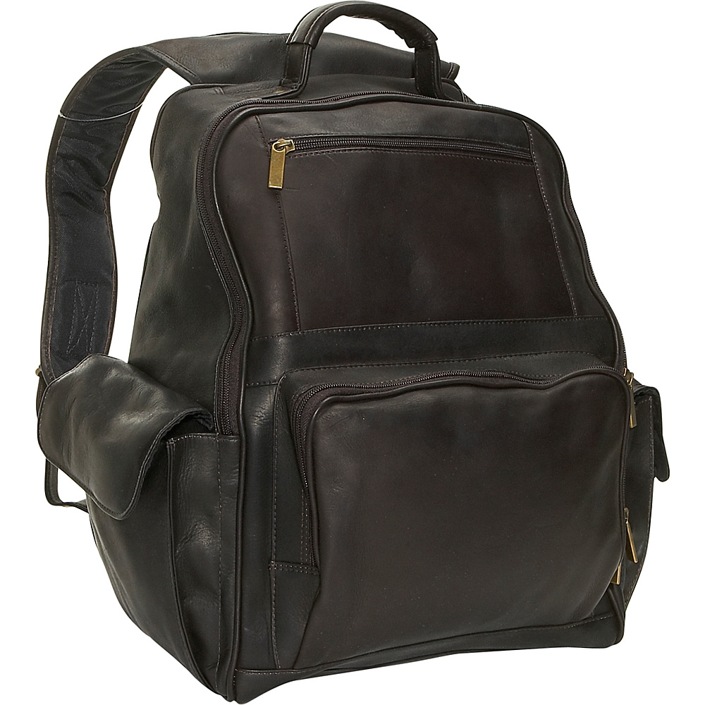 David King & Co. Large Computer Backpack Cafe - David King & Co. Business & Laptop Backpacks - Backpacks, Business & Laptop Backpacks