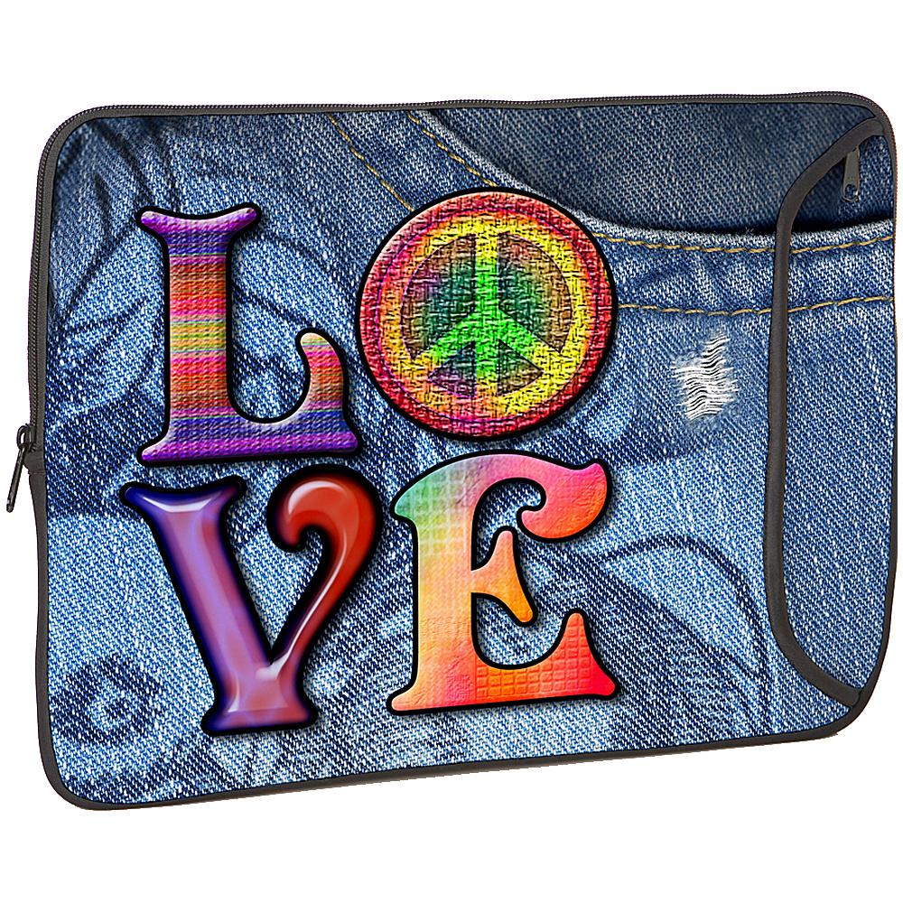 Designer Sleeves Designer Sleeve for 13 MacBook LOVE