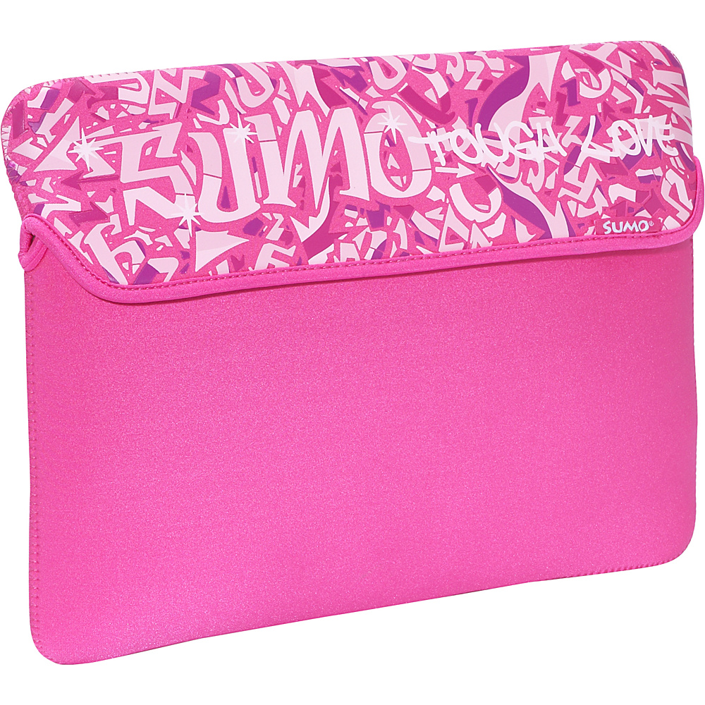 Sumo Graffiti Sleeve for 15 MacBook Pro Pink