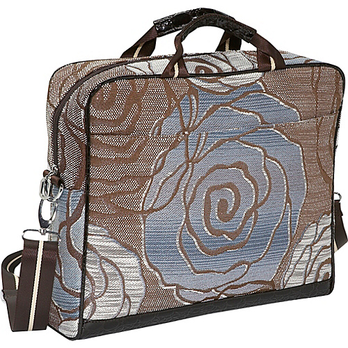 Mellow World Rose Laptop Bag - Blue