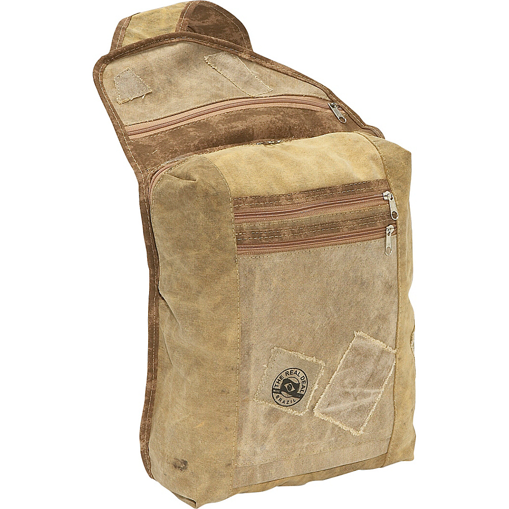 The Real Deal Manaus Shoulder Bag Canvas