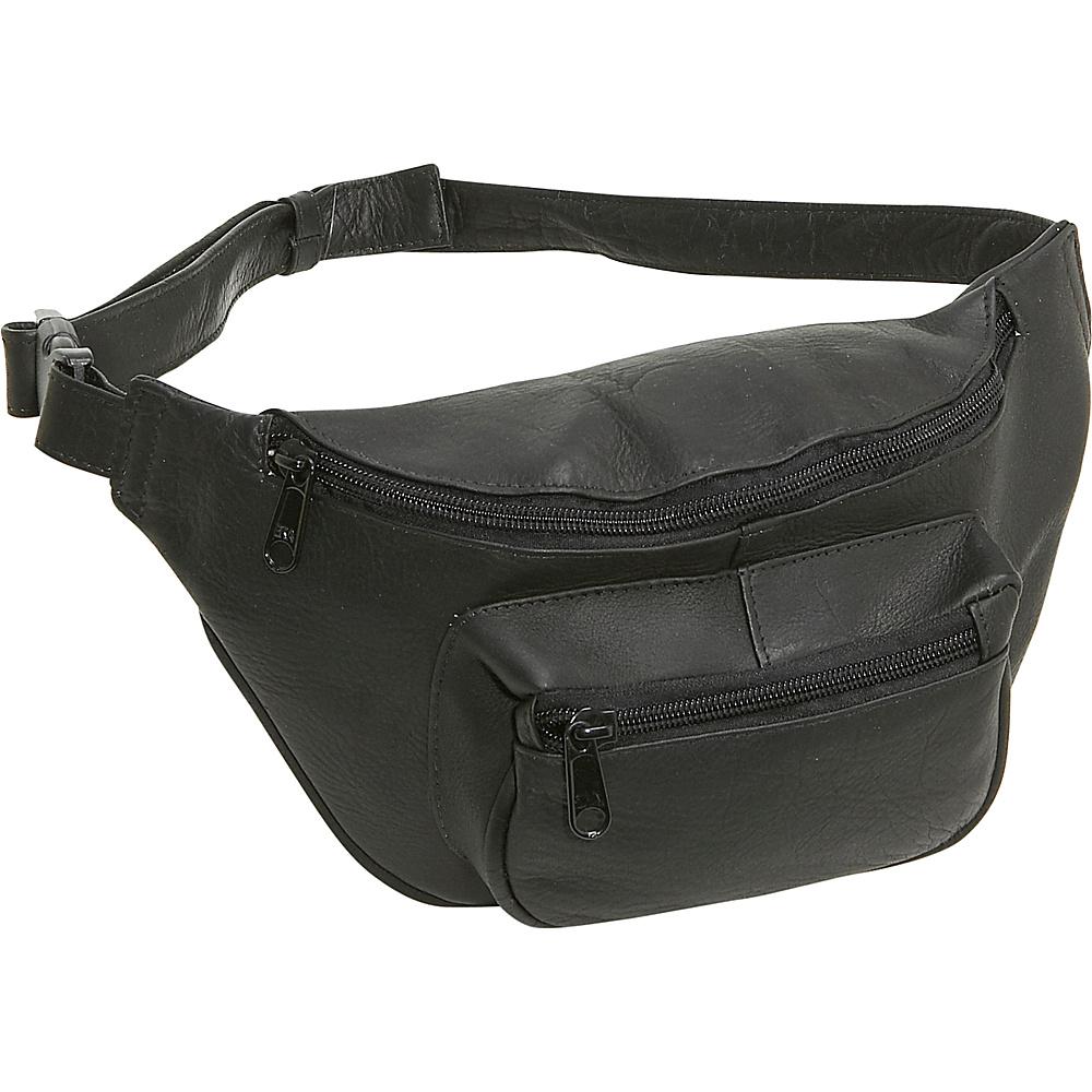 Le Donne Leather Waist Bag - Black - Backpacks, Waist Packs