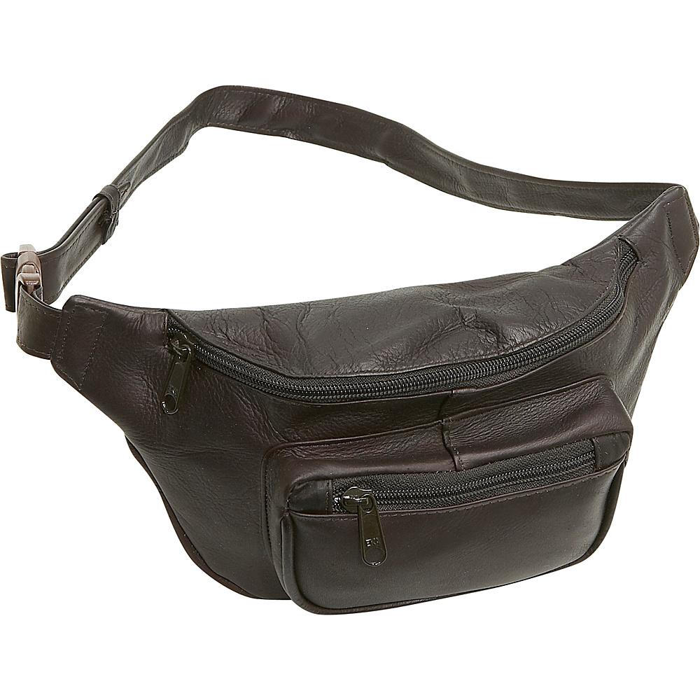 Le Donne Leather Waist Bag - Caf - Backpacks, Waist Packs