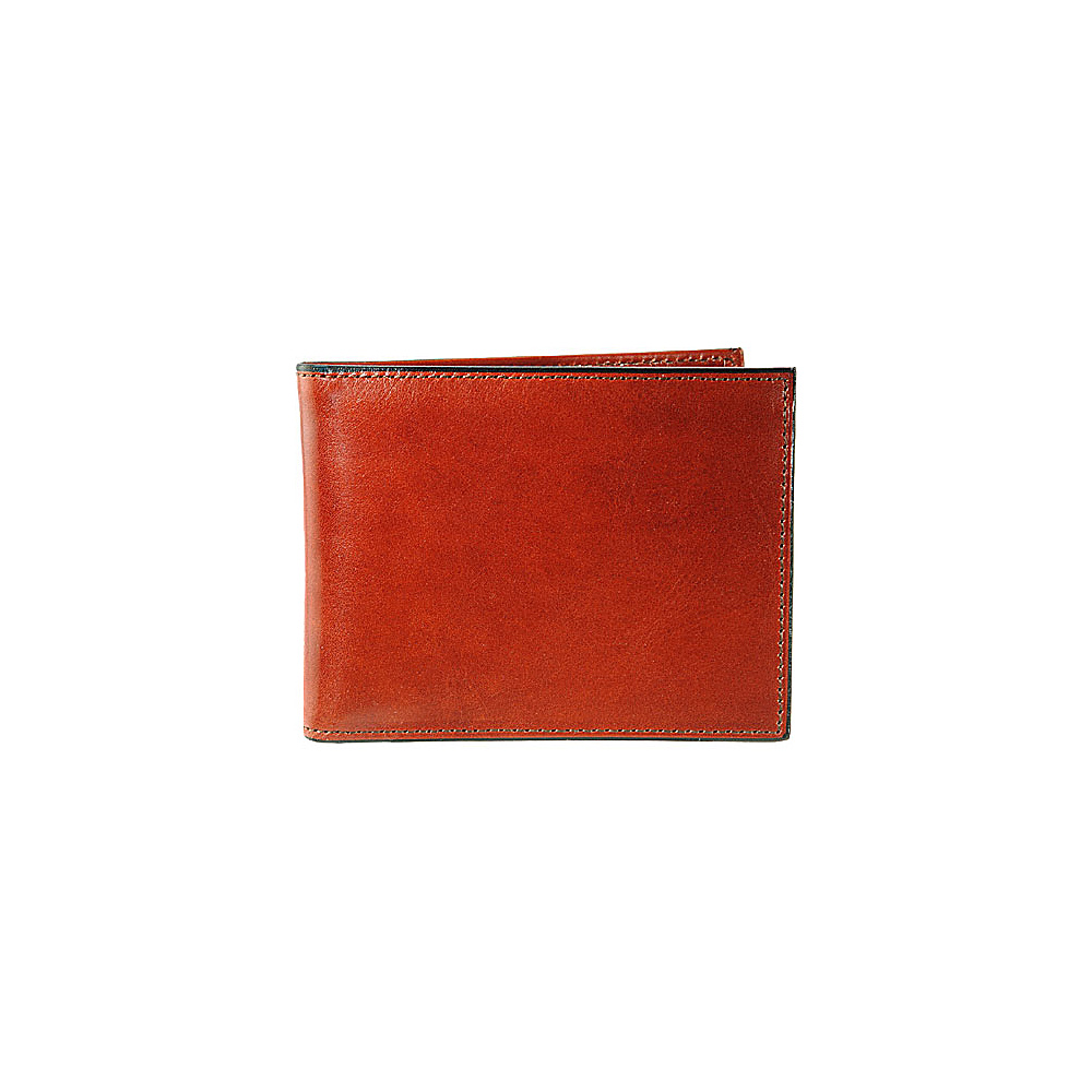 Bosca Old Leather Double I.D. Credit Wallet Cognac