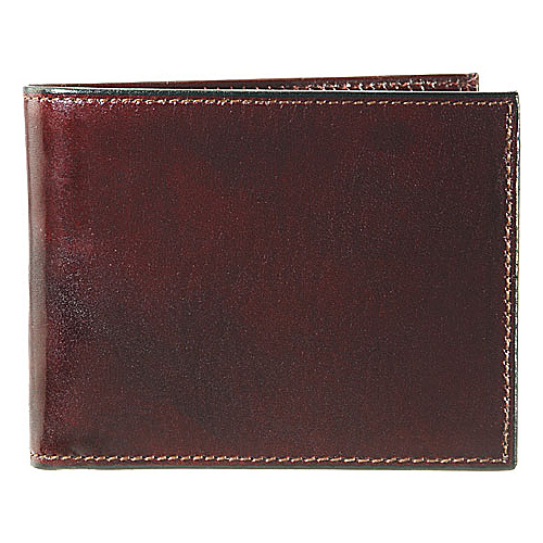 Bosca Old Leather Double I.D. Credit Wallet - Dark