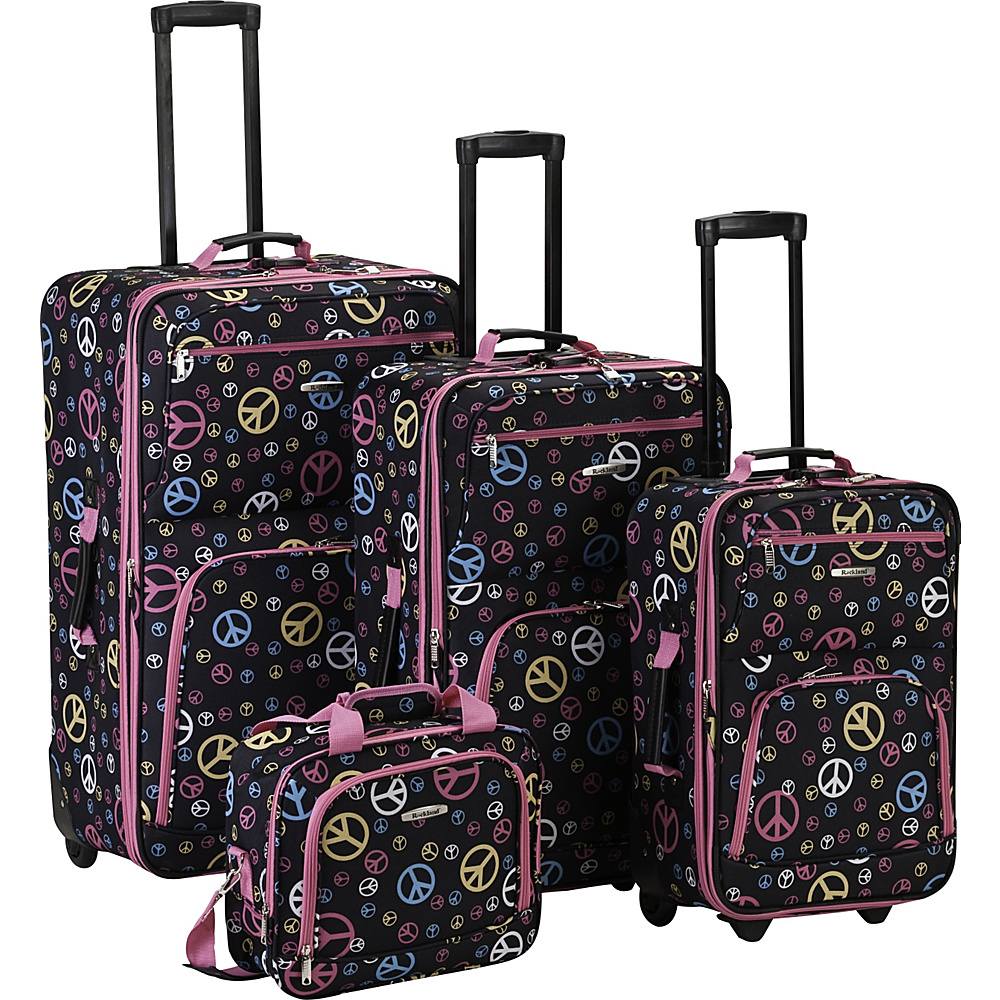 Rockland Luggage 4 Piece Expandable Luggage Set - Multi - Luggage, Luggage Sets