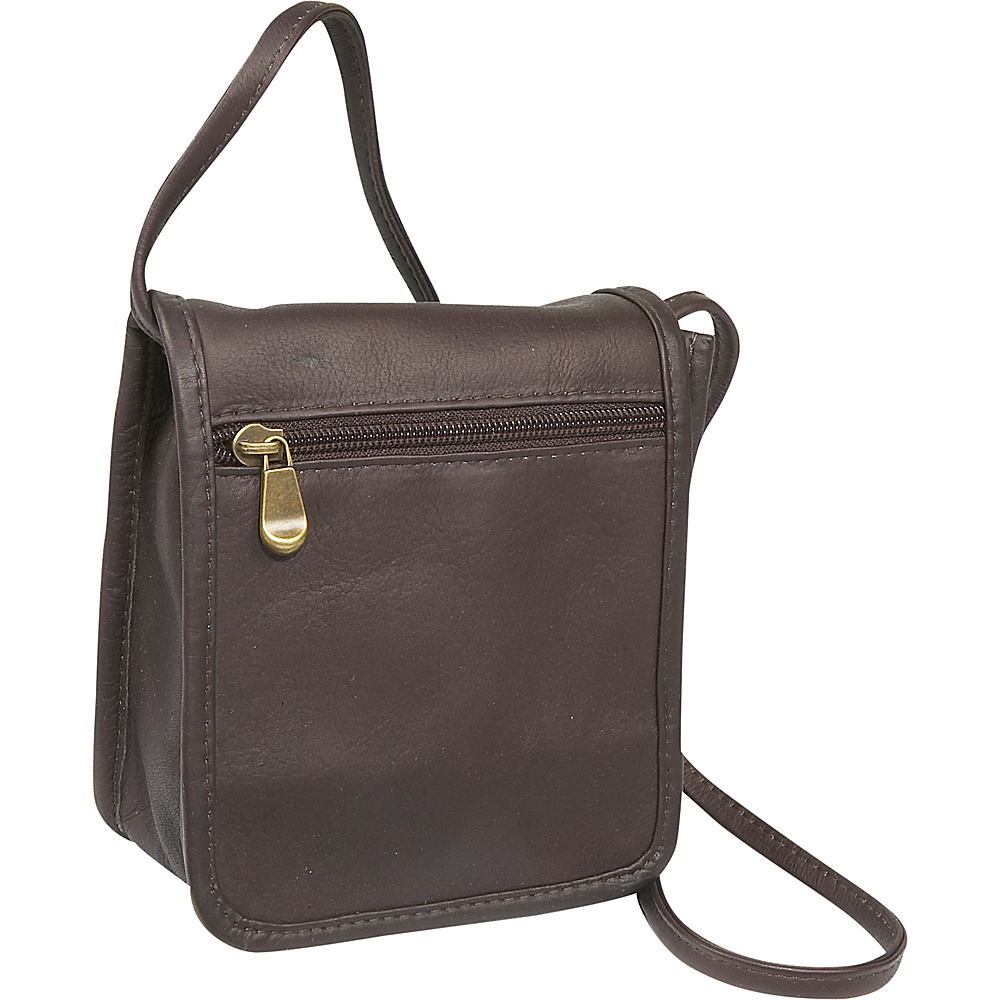 Le Donne Leather Mini Full Flap - Caf - Handbags, Leather Handbags