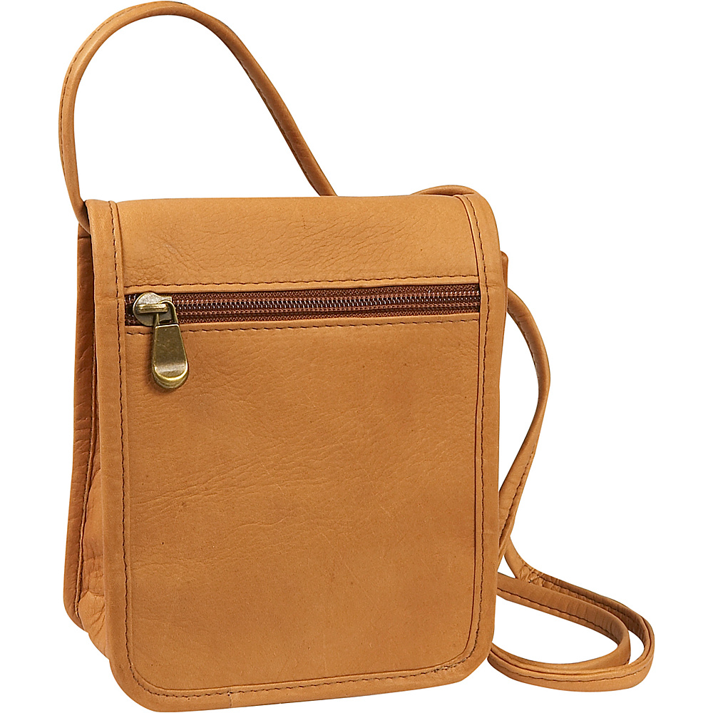 Le Donne Leather Mini Full Flap - Tan - Handbags, Leather Handbags