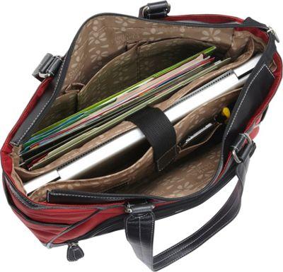 Clark & Mayfield Sellwood Metro Mini Tablet Handbag 10.5 inch Red - Clark & Mayfield Women's Business Bags