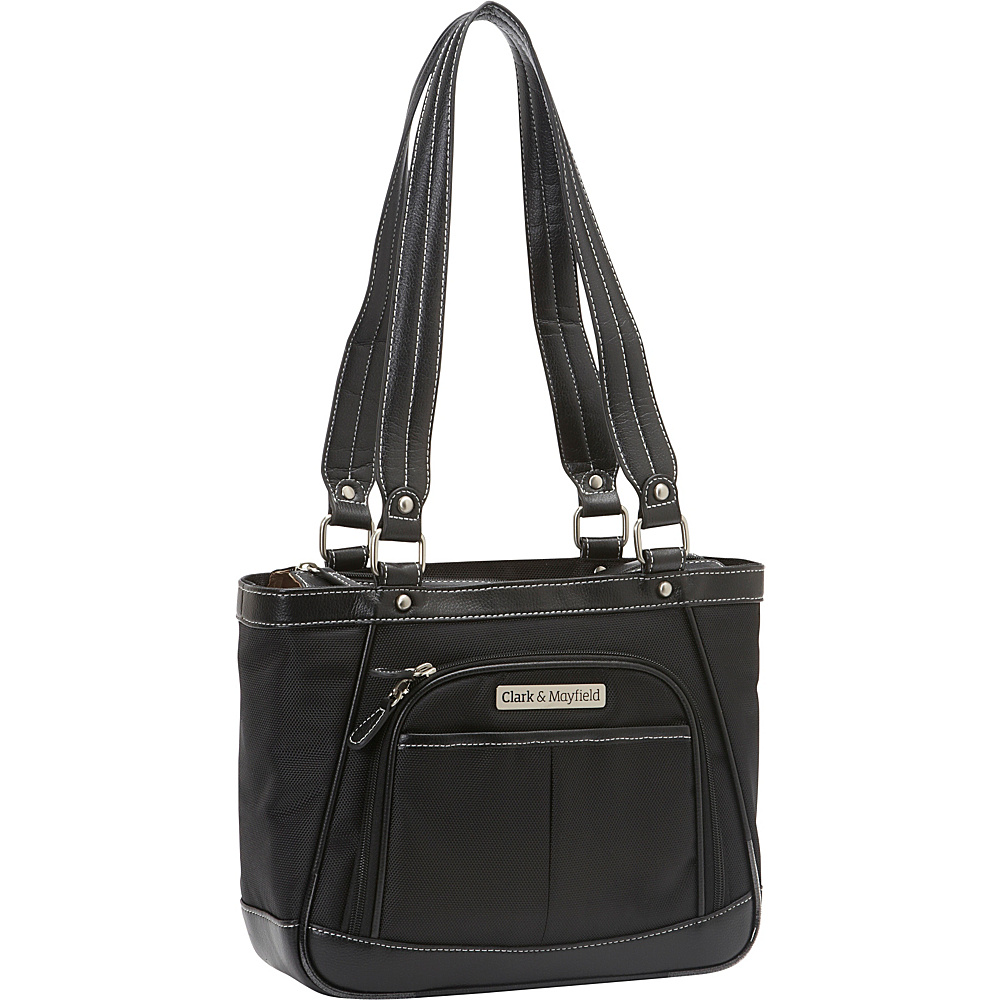 Clark Mayfield Sellwood Metro Mini Tablet Handbag 10.5 Black Clark Mayfield Women s Business Bags