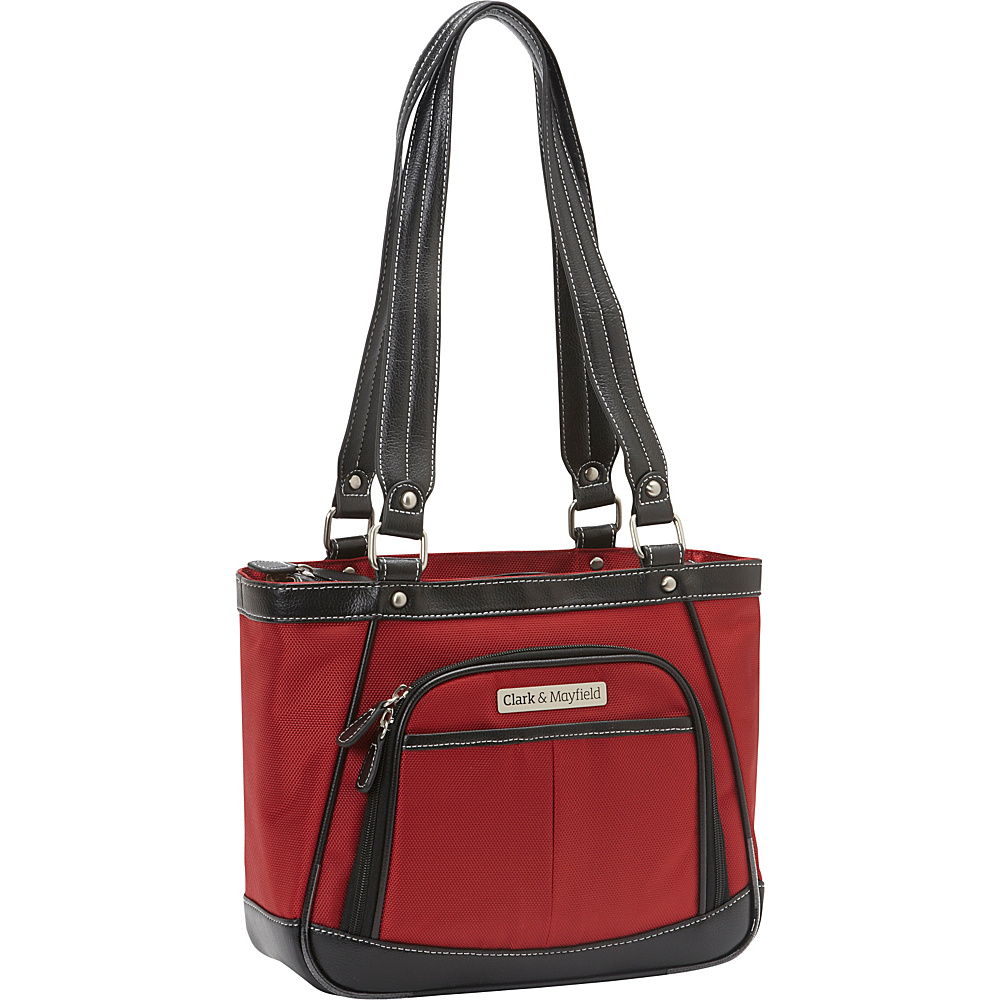 Clark Mayfield Sellwood Metro Mini Tablet Handbag 10.5 Red Clark Mayfield Women s Business Bags