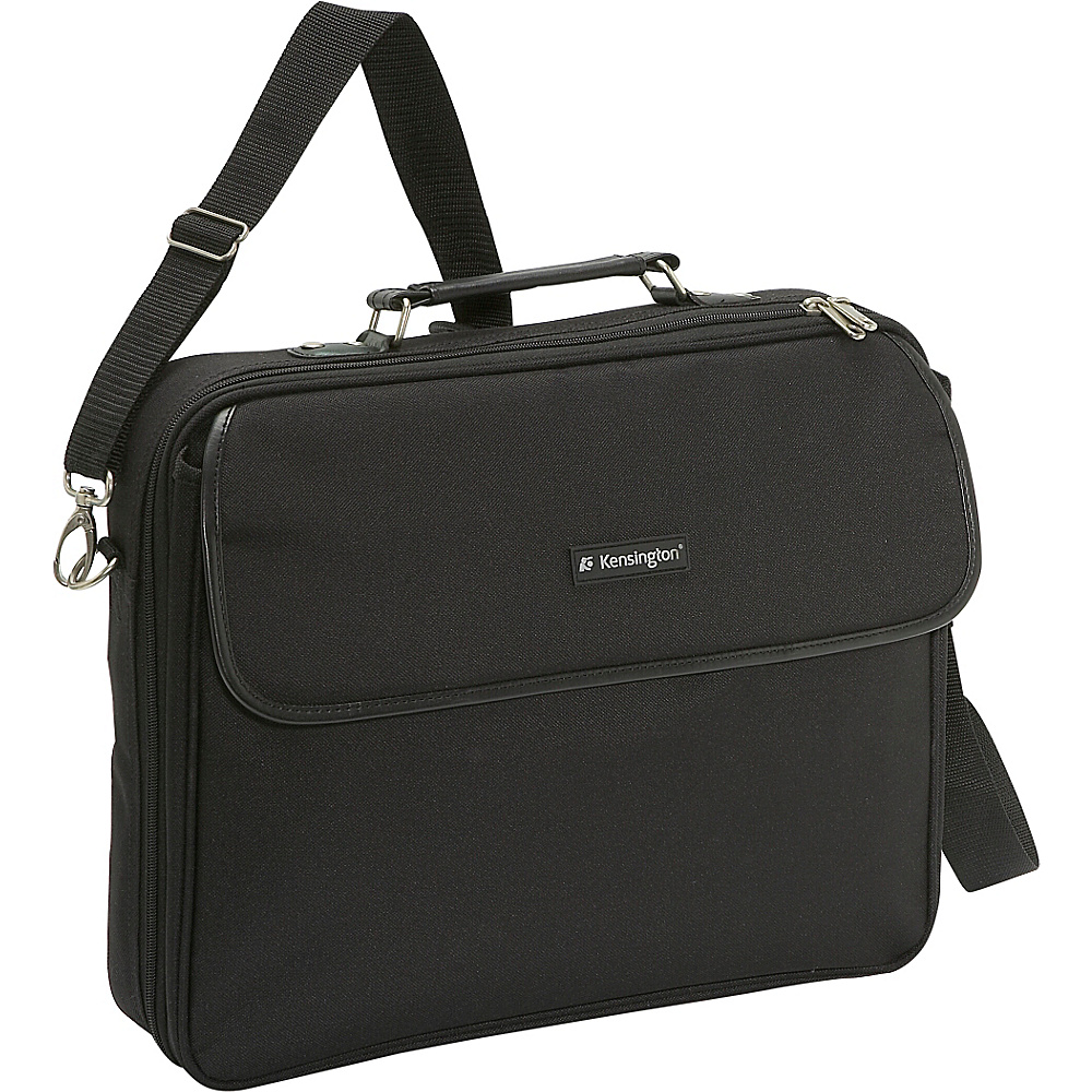 Kensington Simply Portable 30 62560 15.4 Case - Black - Work Bags & Briefcases, Non-Wheeled Business Cases