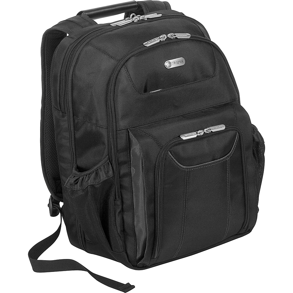 Targus Zip-Thru Corporate Traveler Notebook Backpack - - Backpacks, Business & Laptop Backpacks