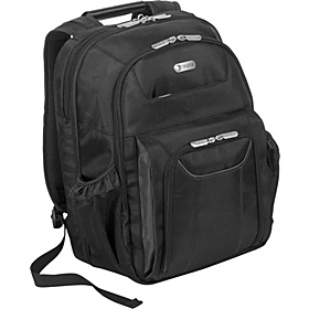 Zip-Thru Corporate Traveler 15'' Notebook Backpack Black