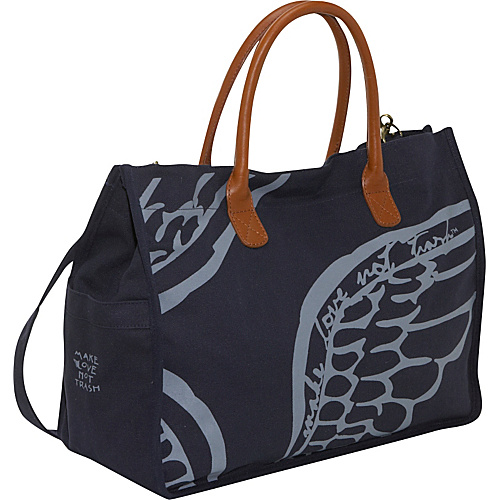 Make Love Not Trash Wing Tote