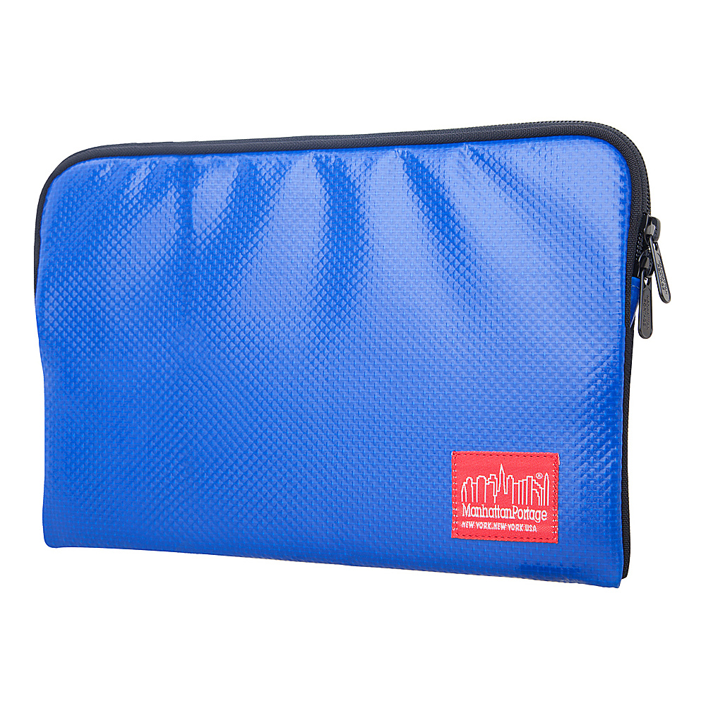 Manhattan Portage Vinyl 17 Laptop Sleeve - Navy - Technology, Electronic Cases