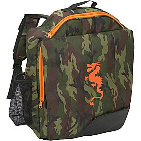 Little D Camo Dragon Backpack for Kids Camouflage With Dragon