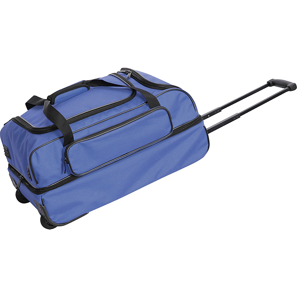 Netpack 22 Travel Light Wheeled Duffel - Navy - Luggage, Softside Carry-On