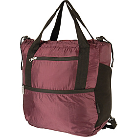 Stow-Away Backpack/Tote Duo Eggplant