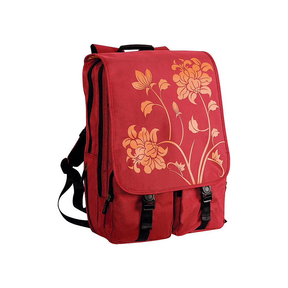 Laurex Laptop Backpack fits up to 17 Laptop Red