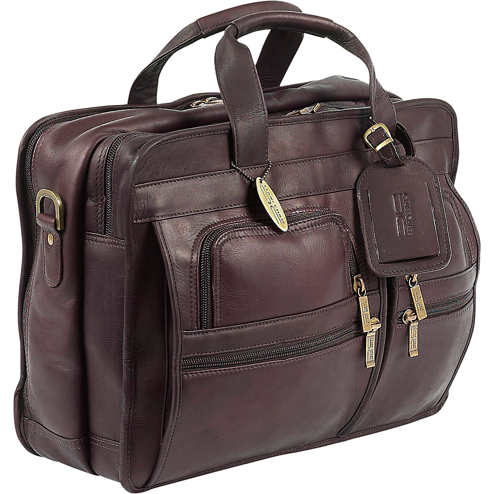 ClaireChase Executive Briefcase - Cafe - Work Bags & Briefcases, Non-Wheeled Business Cases