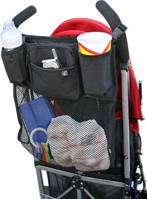 J.L. Childress Cups 'N Cargo Stroller Organizer Black - J.L. Childress Diaper Bags & Accessories