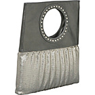 Buy Whiting and Davis Large Studly Circle Foldover Clutch by Whiting and Davis