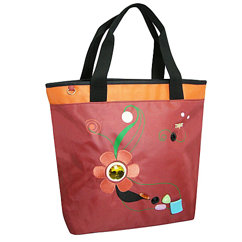 Three Jewel Shopper Bag - Shoulder Bag