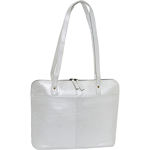 Latico Leathers Rosyln - Metallic White