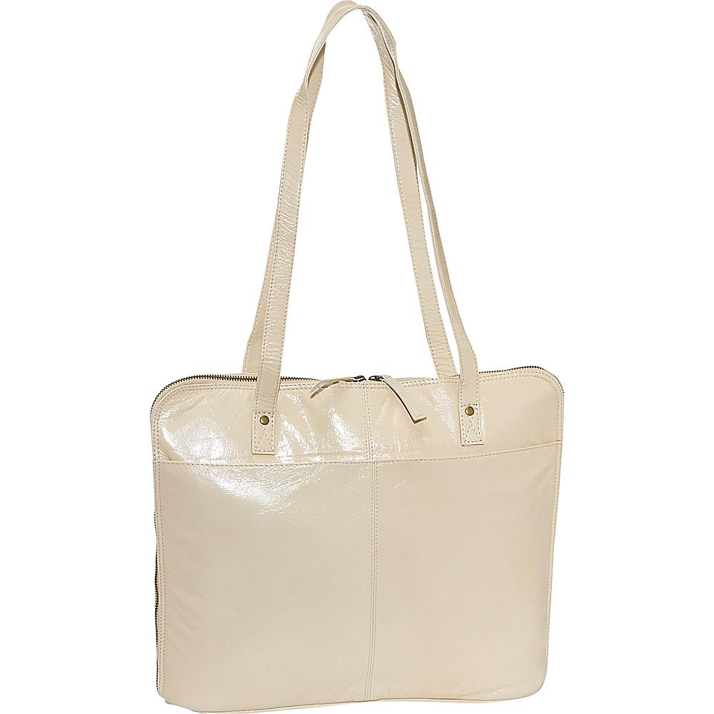 Latico Leathers Rosyln - Parchment - Handbags, Leather Handbags