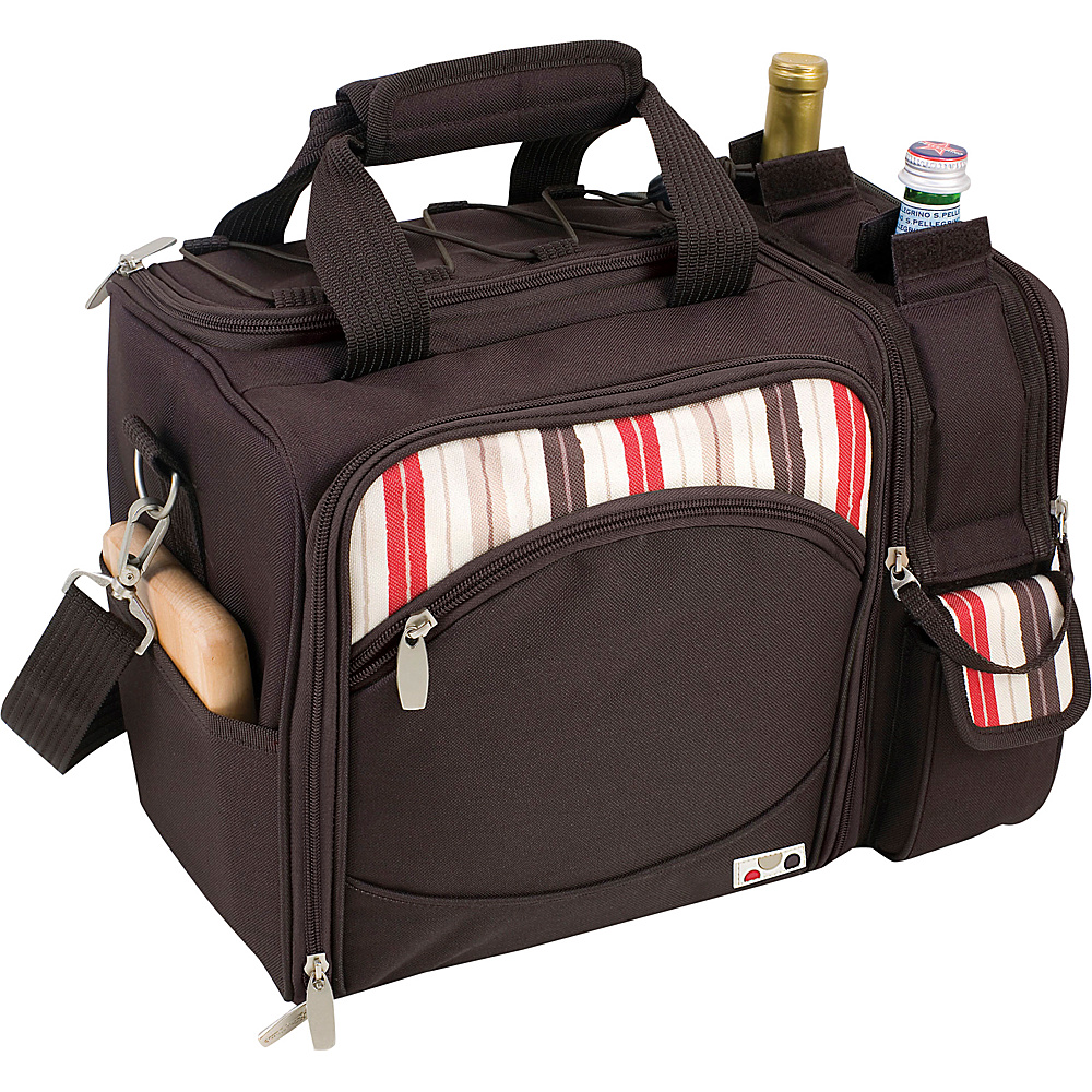 Picnic Time Malibu Insulated Picnic Pack Moka