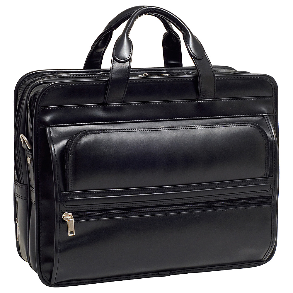McKlein USA P Series Elston Leather Double Compartment - Work Bags & Briefcases, Non-Wheeled Business Cases