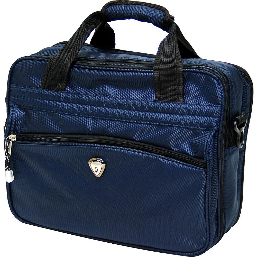 CalPak First Impression Laptop Bag Navy - CalPak Non-Wheeled Business Cases