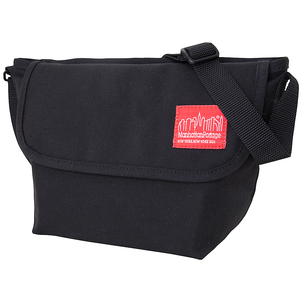 Manhattan Portage Nylon Messenger Bag (Small) - Black - Work Bags & Briefcases, Messenger Bags