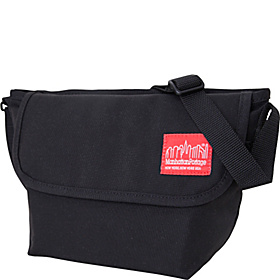 Nylon Messenger Bag (Small) Black