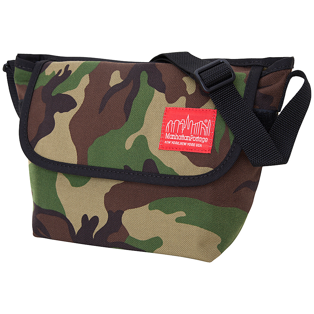 Manhattan Portage Nylon Messenger Bag (Small) Camo - Manhattan Portage Messenger Bags - Work Bags & Briefcases, Messenger Bags