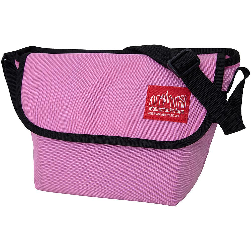 Manhattan Portage Nylon Messenger Bag (Small) Pink - Manhattan Portage Messenger Bags