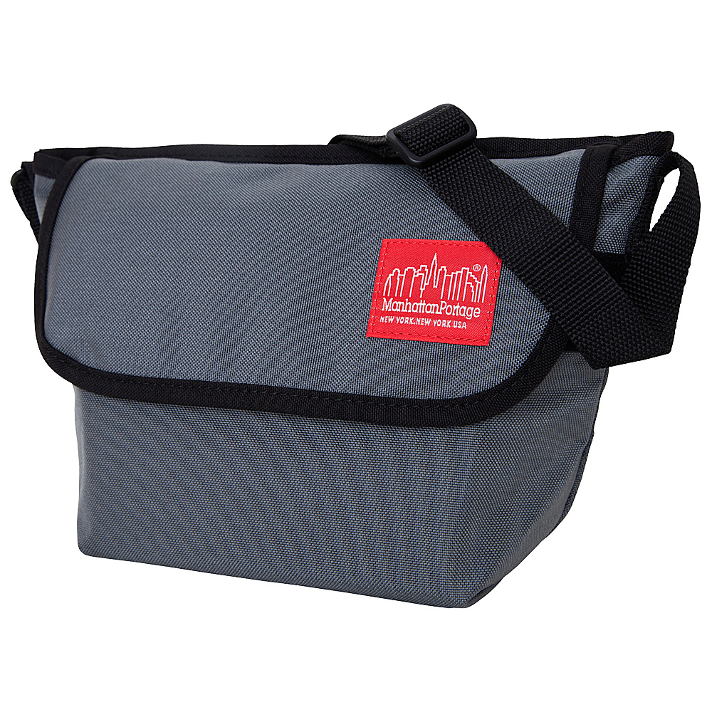 Manhattan Portage Nylon Messenger Bag (Small) - Gray - Work Bags & Briefcases, Messenger Bags