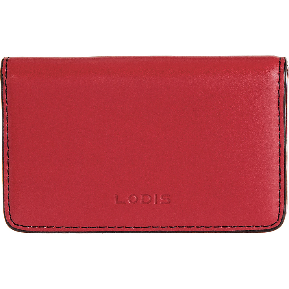 Lodis Audrey RFID Mini Card Case Red - Lodis Womens SLG Other - Women's SLG, Women's SLG Other