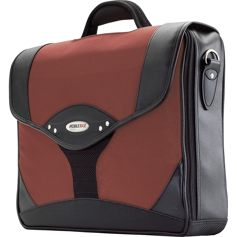 Mobile Edge Select Computer Briefcase - 15.6PC / 17 - Work Bags & Briefcases, Non-Wheeled Business Cases