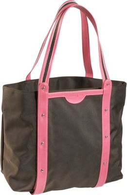 Crescent Moon Convertible Yoga Tote - Brown/Pink