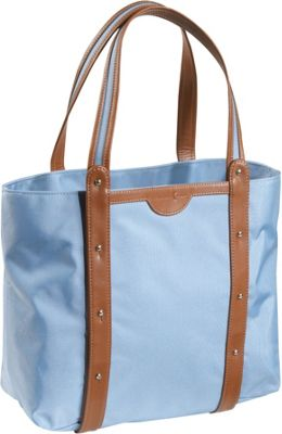 Crescent Moon Convertible Yoga Tote - Blue/Brown