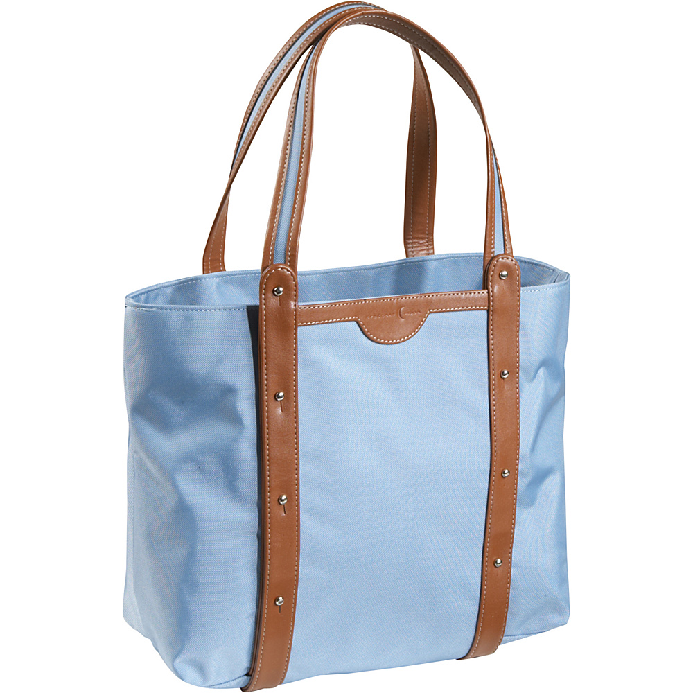 Crescent Moon Convertible Yoga Tote Blue Brown