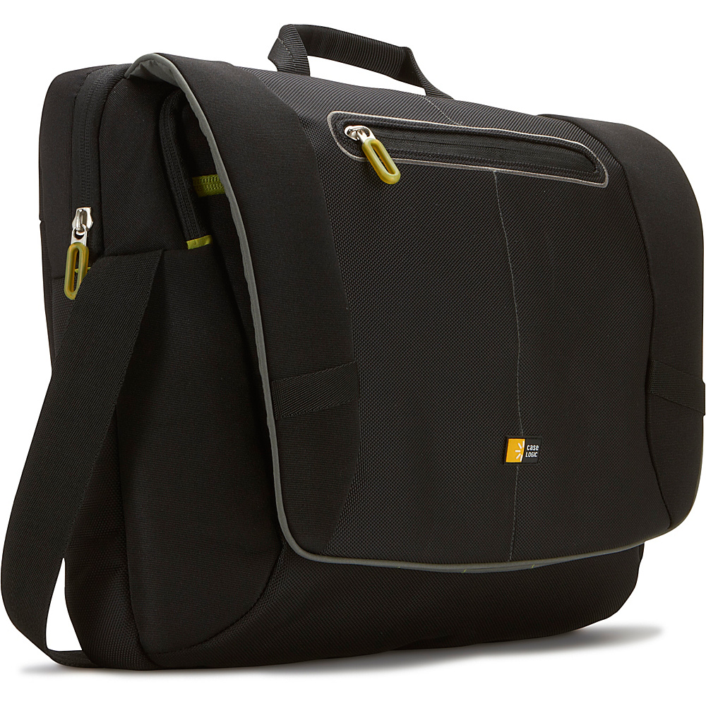 Case Logic 17 Laptop Messenger Bag Black