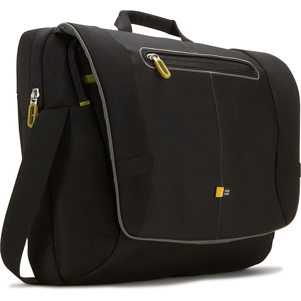 Case Logic 17 Laptop Messenger Bag - Black - Work Bags & Briefcases, Messenger Bags